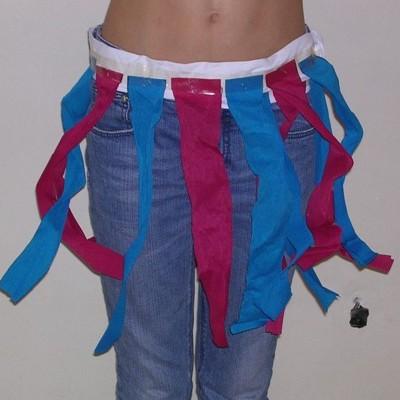 11 ceintures à franges