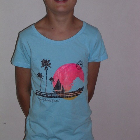 10 t-shirts bleu